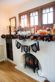 diy fun u0026 festive halloween mantel