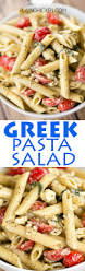 greek pasta salad seriously the best i could make a meal out of