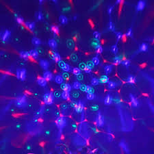 Rotating Disco Ball Light Led Stage Light Auto Rotating Disco Ball Lamp Effect Magic Party