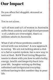 australia u0027s only printed raw food magazine indiegogo