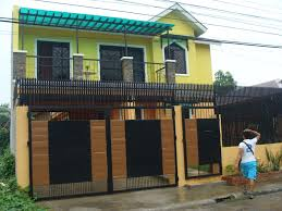 Simple House Designs by Alta Tierra Village House Construction Project In Jaro Iloilo