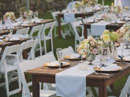 wedding table and chair rentals table rentals and chair rentals jefferson rentals renting
