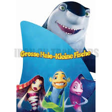 custom design personalized shark tale logo iron stickers