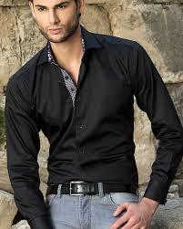 black shirt fashion is shirt
