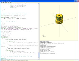 openscad how to create solid 3d objects u2013 meccanismo complesso