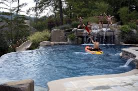 Backyard Swimming Pool Landscaping Ideas Best Inground Swimming Pool Designs 3 Thraam Com