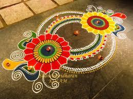 gorgeous rangoli designs and ideas for diwali 2017 festival