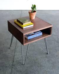 hairpin leg coffee table round hairpin leg coffee table diy writehookstudio com
