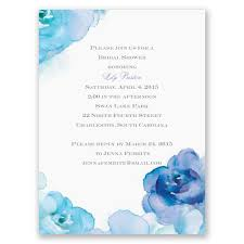 Bridal Shower Images by Watercolor Bridal Shower Invitations Invitations By Dawn