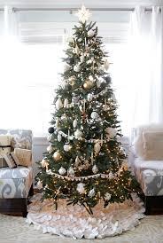 black and white tree decor fix