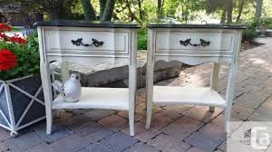 night tables for sale refinished and painted vintage end night tables malcolm for sale