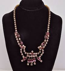 color rhinestone necklace images 89 best continental jewellery inc 1943 1997 images jpg