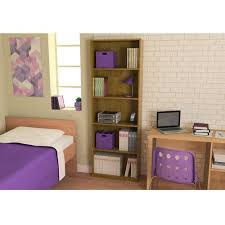 Mainstays 5 Shelf Bookcase Alder Ameriwood 5 Shelf Bookcase Multiple Colors Walmart Com