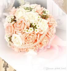 Wedding Bouquets Cheap Vintage Artificial Wedding Bouquets 2017 Flowers Bridal Brooch