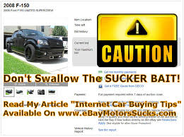 auto bid on ebay ebay car scams 05 31 2013 beware of sucker bait doc s quality cars