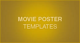 movie poster templates on graphicriver
