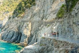 Cinque Terre Italy Map The Azure Trail More Details With The Map