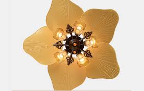 44 Inch Decorative High Quality Luxurious Ceiling Fans Lights Nzqo