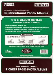 Pioneer Refill Pages Pioneer Photo Albums 46bpr Refill Pages U2022 5 99 Picclick
