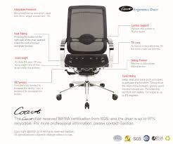Leather Boss Chair Designer Comfortable Relax Boss Chair High Back Ergonomic Office