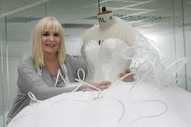 wedding dress makers big weddings dressmaker thelma madine launches thelma s