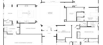 5 bedroom single story house plans house floor plans single story novic me