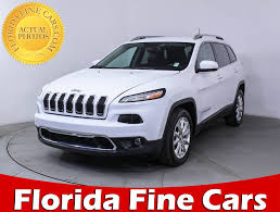 New And Used Jeep Cherokee For Sale In Miami Fl U S News