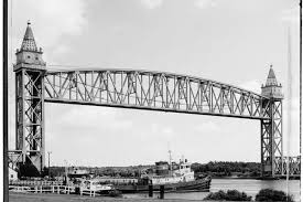 13 historic photos of the cape cod canal railroad bridge curbed