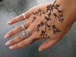 birds in a tree henna design by ponnie matin ponnie matin flickr