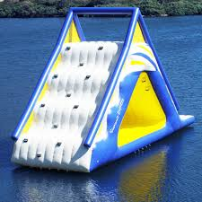 aquaglide summit express 16 u0027 gigantic inflatable water slide