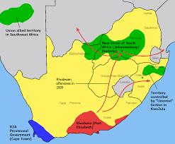 Port Elizabeth South Africa Map by Rhodesia 1983 Doomsday Alternative History Fandom Powered