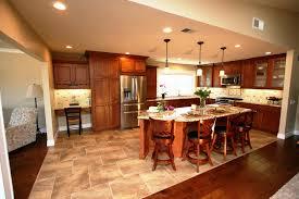 Kitchen Floor Ideas with Cherry Cabinets Elegant Green Kitchen