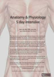 Anatomy And Physiology Place Anatomy U0026 Physiology 5 Day Intensive Workshop Feel Yoga