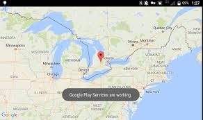 android maps debugging maps with secure work space blackberry