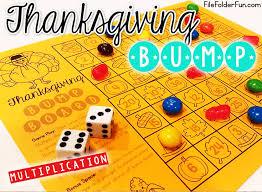 thanksgiving file folder