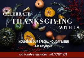 fin point boston thanksgiving dinner 11 23 17
