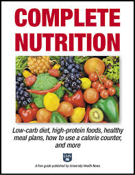 complete nutrition low carb diet high protein foods healthy