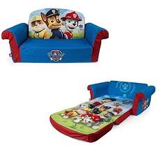 Flip Open Sofa by Kids Flip Open Sofa 2 In 1 Couch Chair Bed Lounger Toddler Paw