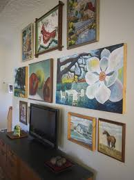 how to hang a painting a simple low tech solution for hanging art