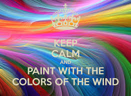 paint with all the colors of the wind ideas pocahontas paint