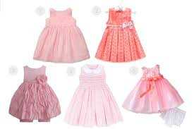 pretty in pink 5 easter dresses for baby
