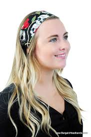 boho headbands skulls and roses day of the dead headband fashion headband boho