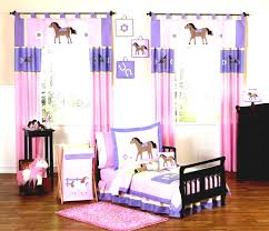 little girls bedroom also cute horse theme in pink and purple