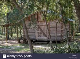 Florida Cracker Houses Silver River State Park Ocala Florida Cracker Village Stock Photo