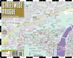 Map Of Czech Republic Streetwise Prague Map Laminated City Center Street Map Of Prague