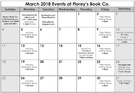 march 2018 womel co florey s book co march 2018 events at florey s book co
