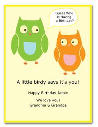 make a kid u0027s birthday card using a child u0027s birthday card template