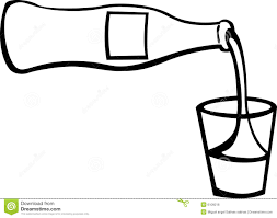 black and white champagne bottle clipart pouring bottle clipart explore pictures