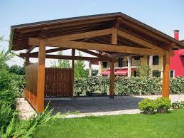 struttura in legno per tettoia tettoia in legno per cer