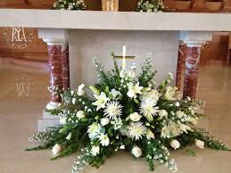 church arrangement floral arrangements funeral